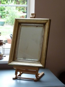 Mirror on Easel